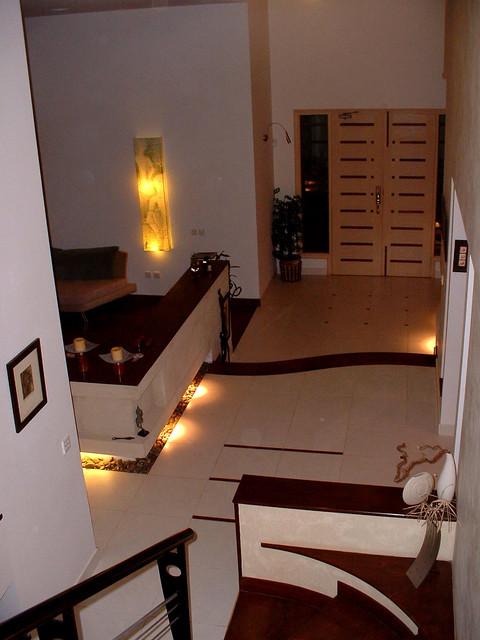 Entrance lobby design home - Home design
