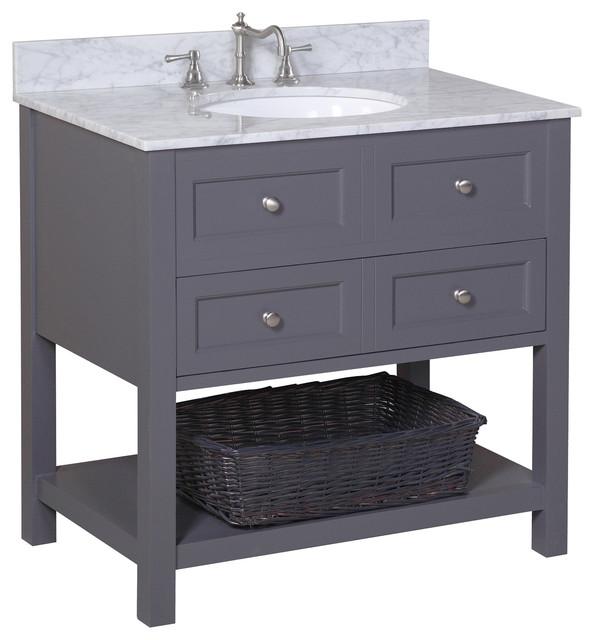 Charcoal Gray Bathroom Vanities