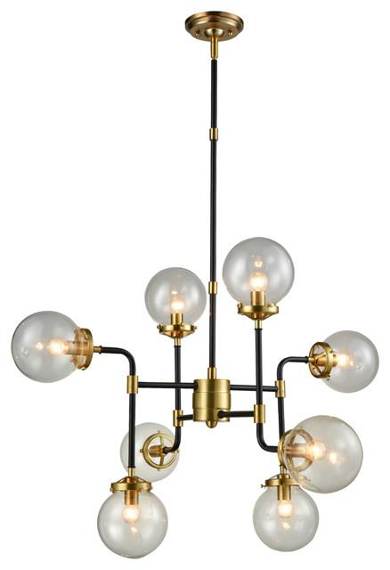 Gia Pendant Black and Gold midcentury-pendant-lighting  sc 1 st  Houzz & Gia Pendant Black and Gold - Midcentury - Pendant Lighting - by ... azcodes.com