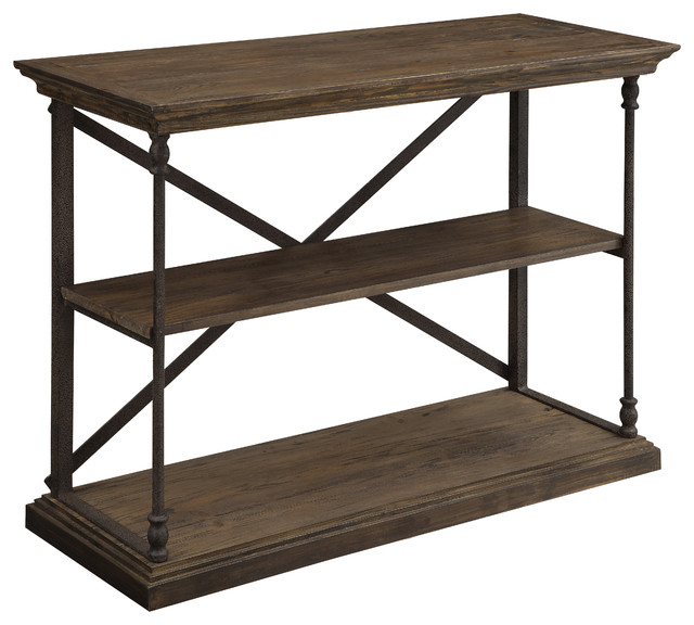Lovely Industrial Console Tables by HedgeApple
