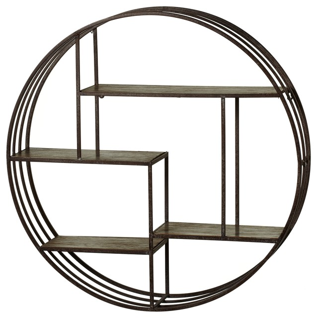 Pyrat Circle Wall Shelf