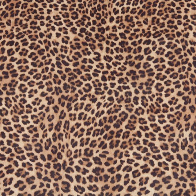 E420 Leopard Print Microfiber Fabric