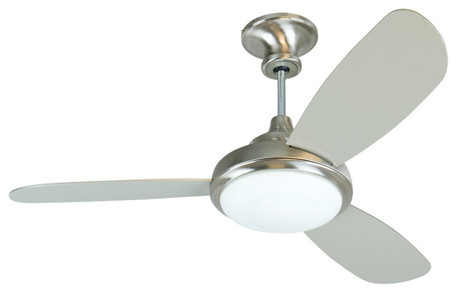 """Craftmade Tr352ss3 52"""" Ceiling Fan With Blades And Light Kit."""
