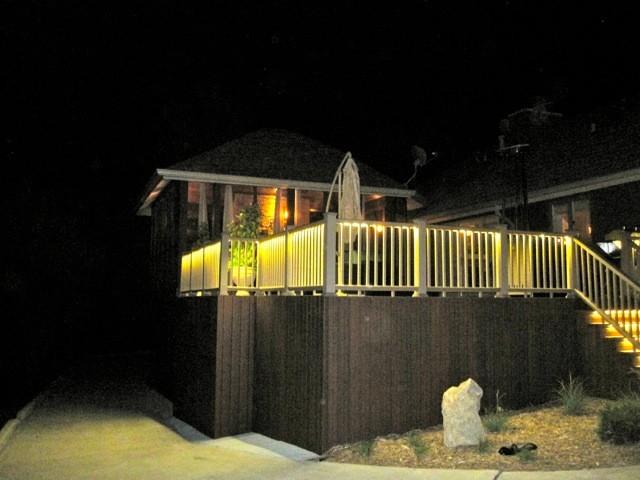 balcony lighting. deck and balcony design with led lighting traditionalveranda o