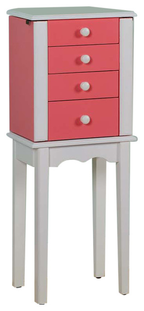 Promo 3-Drawer Jewelry Armoire - Modern - Jewelry Armoires - by Nathan ...