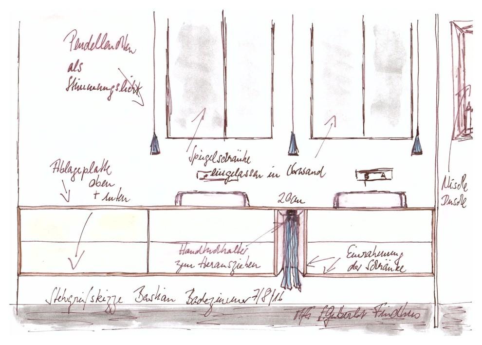 Stegreif-Skizze für Bastian