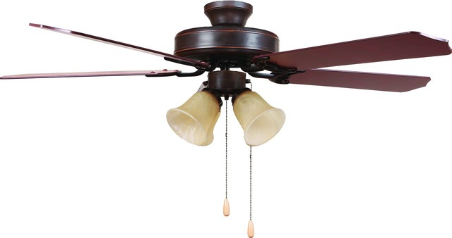 Westfield Collection 52 Inch Indoor Ceiling Fan - Oil Rubbed Bronze.