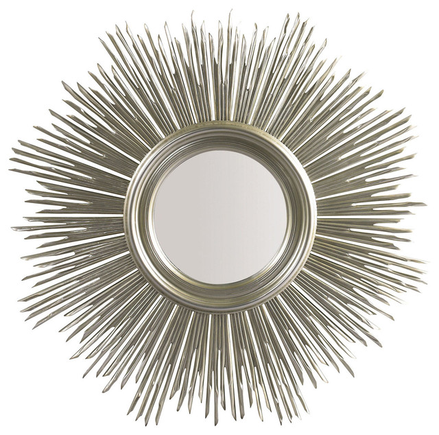 Lillian August Maddox Mirror, Silver.