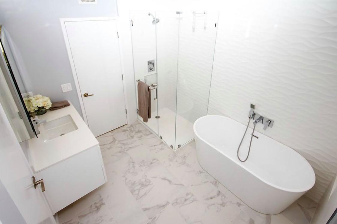 Bathroom remodel in Encino