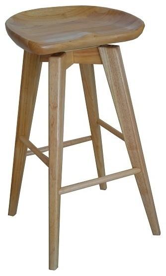 Outstanding Bali Swivel Stool Natural 31 Ncnpc Chair Design For Home Ncnpcorg
