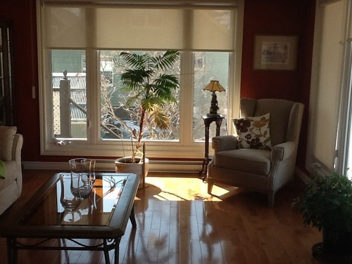 Nice Would Like Suggestion To Finish Dressing My Windows In The Living Room. One  Window Is 8 Ft And The Other 12 Ft Wide. Should I Use Panel, And What Color  Or ...