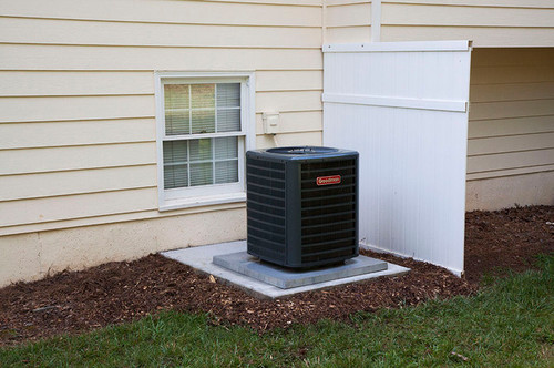 Goodman air conditioner for Air conditioner slab