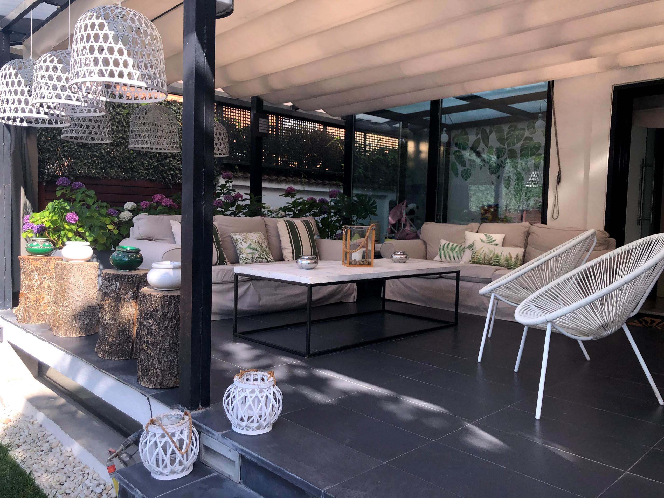 Terrazas, Jardines  y piscinas