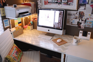 Jens Office studio eclectic home office