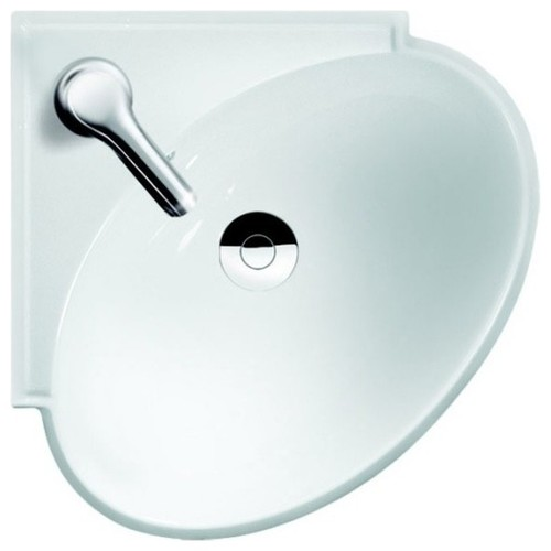"CeraStyle 002000-U Mini 20"" Ceramic Bathroom Sink"