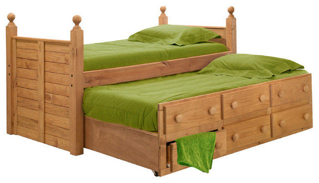 shop houzz sleep and play usa tribeca extra long combo captains bed kids beds. Black Bedroom Furniture Sets. Home Design Ideas