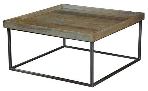 square tray coffee tablesarried, ltd. - rustic - coffee tables