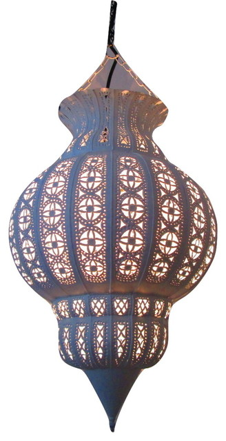 Moroccan furniture bazaar 36 moroccan large hanging pendant 36 moroccan large hanging pendant lantern rustic lamp white enamel iron mediterranean outdoor aloadofball Image collections