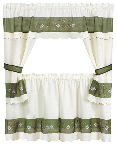 Ph&d Bluebird Vignette Faux Shade Valance In Daffodil Yellow