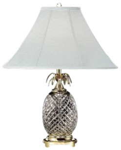 Waterford crystal waterford crystal hospitality table lamp brass waterford crystal hospitality table lamp brass 280922500 tropical table lamps aloadofball