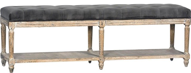 Bench Dovetail Evans Washed Bleached Antique.