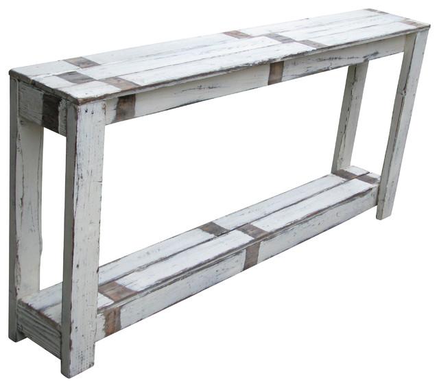 Sofa Table In Farmhouse White