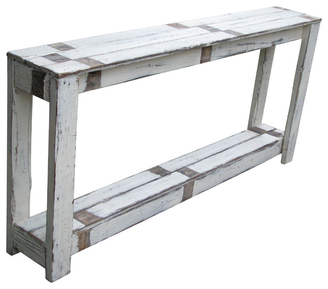 Sofa Table In Farmhouse White