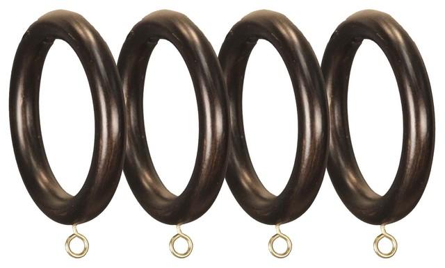 Bronze Menagerie Drapery Rings.