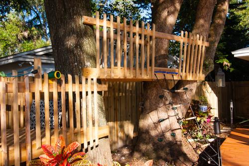 Csoda a hátsókertben! Nézd, mit épített ez az édesapa!