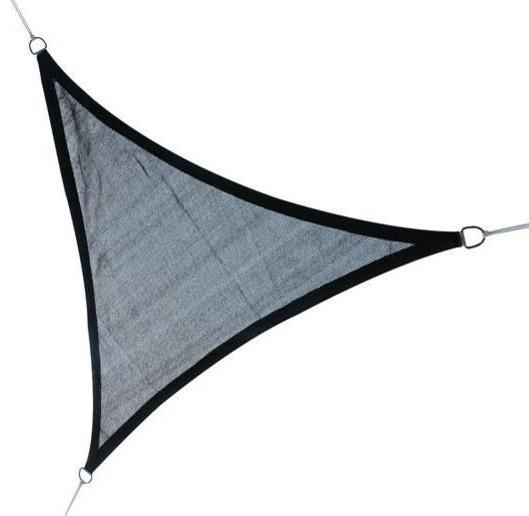 Triangle Outdoor Patio Sun Shade Sail Canopy, Gray Contemporary Canopies