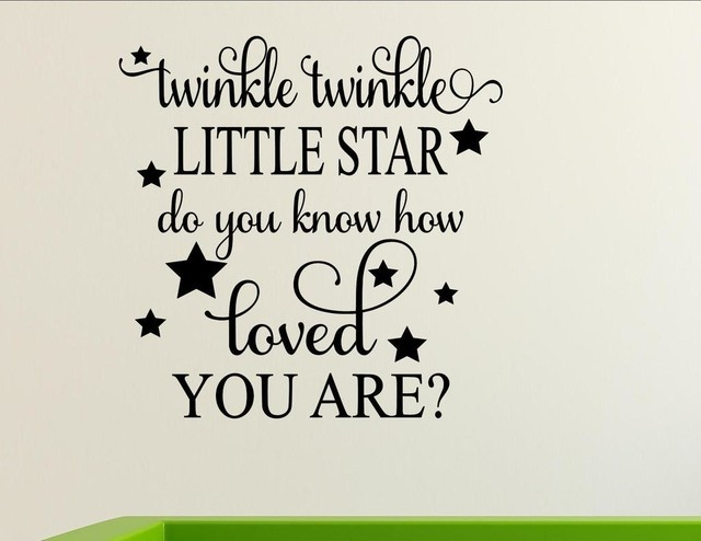 Twinkle, Twinkle Little Star Do You Know How Loved You Are?, Wall ...