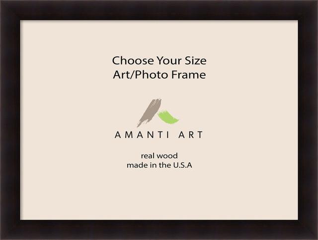 """Art/Photo Frame, Portico Espresso, 49""""x37"""""""