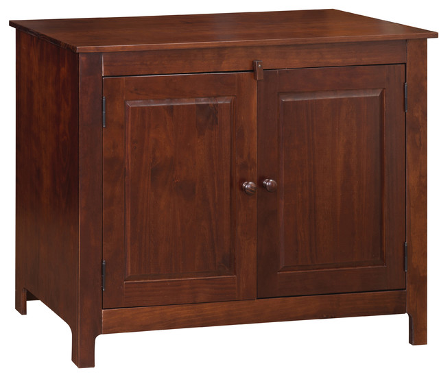 Solid Pine Sideboard Colorado Brown Rustic Buffets