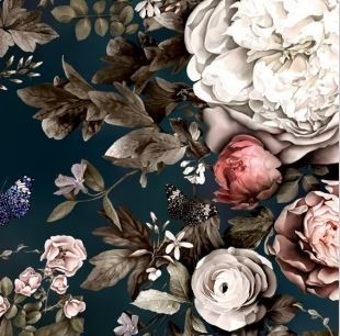 largescale floral wallpaper any us based companies