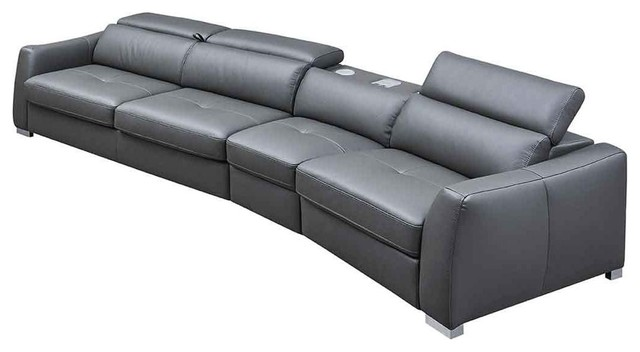 Incredible 312 Sectional Sofa With Bed And Electric Recliner Dark Gray Right Facing Chais Frankydiablos Diy Chair Ideas Frankydiabloscom