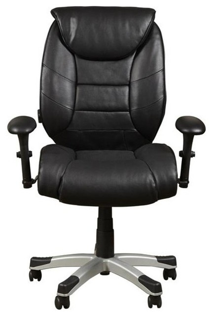 sealy posturpedic memory foam office chair, bovina black