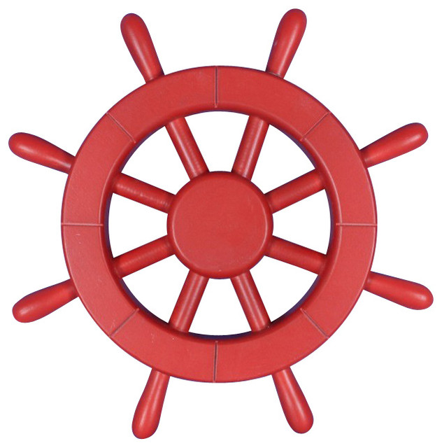 Handcrafted Nautical Decor - Decorative Ship Wheel, 12\