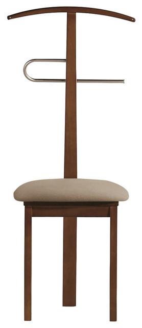 Valet Chair, Walnut.