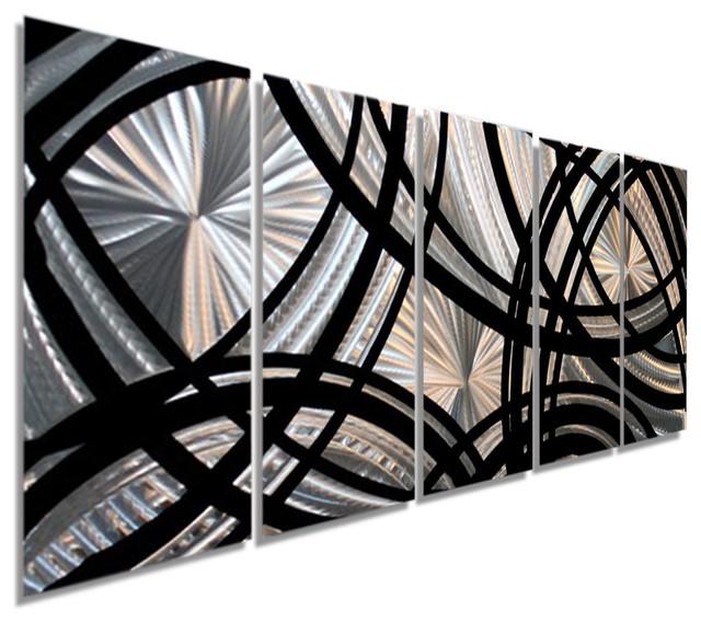 Silver/black Metal Wall Art Sculpture By Jon Allen, Fast & Furious Xl.
