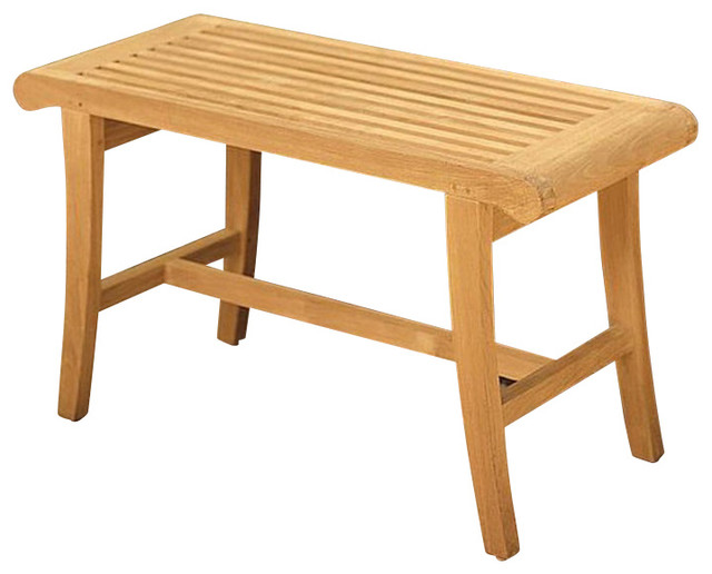 Teak Occassional Bench.