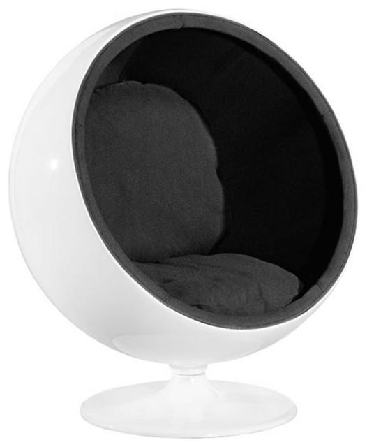 . Zuo Mib Modern Occasional Chair  Black