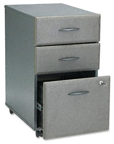 3 Drawer File Cabinet W Double Lock Series A
