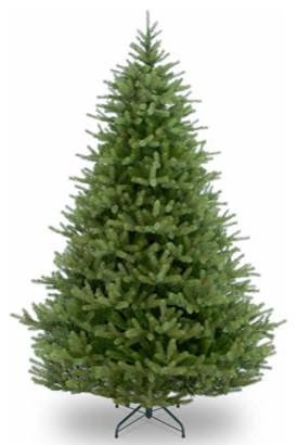 7 12 feel real norway spruce hinged christmas tree traditional christmas - 7 1 2 Foot Christmas Tree