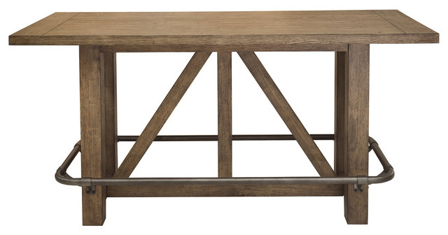 Light Oak Bar Table