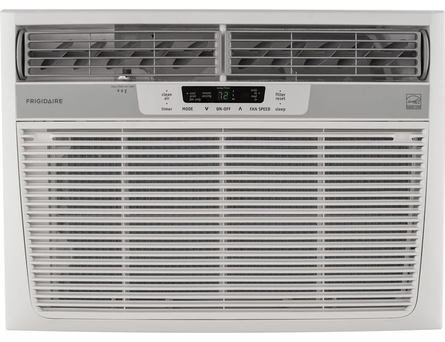 25,000 Btu 230v Window-Mounted Heavy-Duty Air Conditioner, Temperature Sensing.