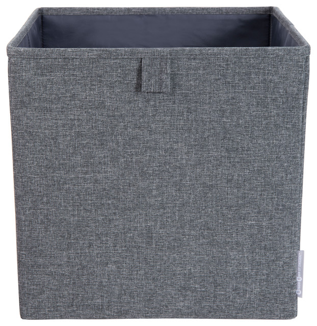 Soft Storage Cube Storage Grey & Soft Storage Cube Storage - Modern - Storage Bins And Boxes - by ...