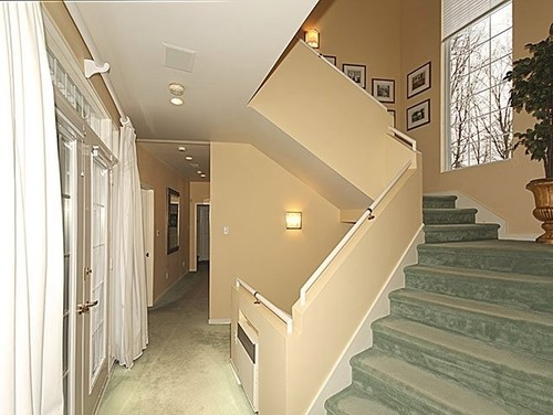 Charming Help Needed To Transform Staircase With Drywall Railing!