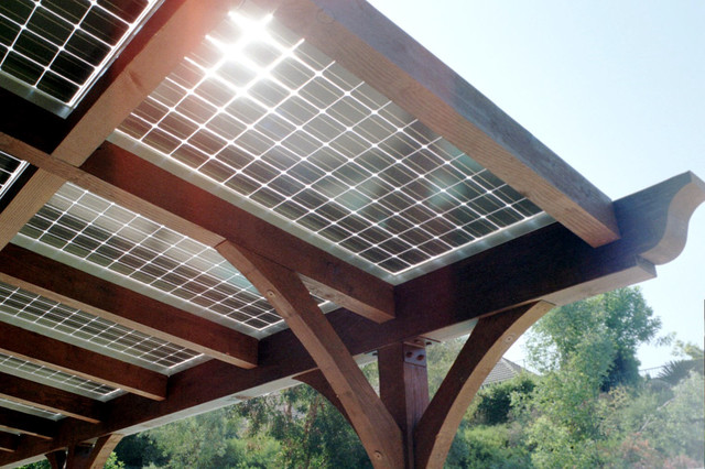 Solar Patio Cover Mediterranean Los Angeles By True