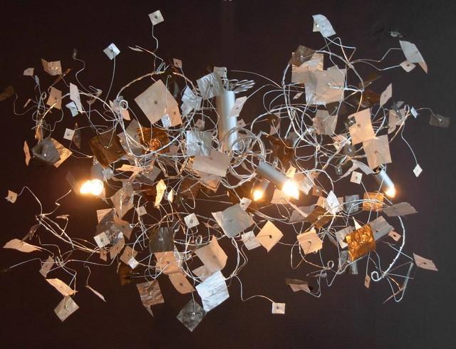 lustre tourbi papier contemporain lille par magnifi 39 sens d coration. Black Bedroom Furniture Sets. Home Design Ideas
