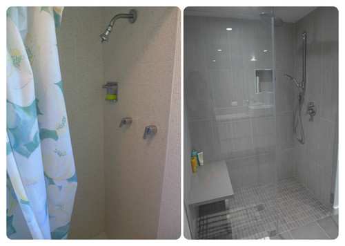Bathroom Expansion: In White, Grey... And Purple!